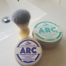 ARC Shaving Soap, Synthetic Brush and Moisturiser Gift Set