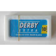Free Derby razor blades with any safety razor purchase