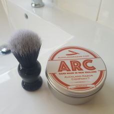 ARC Shaving Soap and Synthetic Brush Gift Set