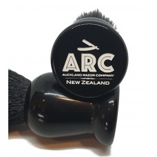 ARC Shaving Brush Black handle Super Badger Hair