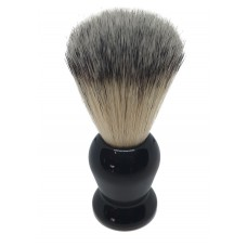 ARC Shaving Brush Black handle Light Colour Synthetic Hair