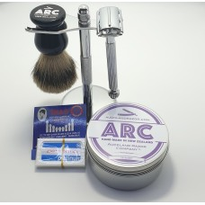 ARC Luxury Men's Shaving Gift Set/Starter Kit