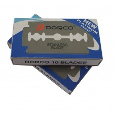 Pack of 10 Dorco ST300 Double Edge Razor Blades