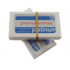 Pack of 10 Personna Platinum Coated Razor Blades