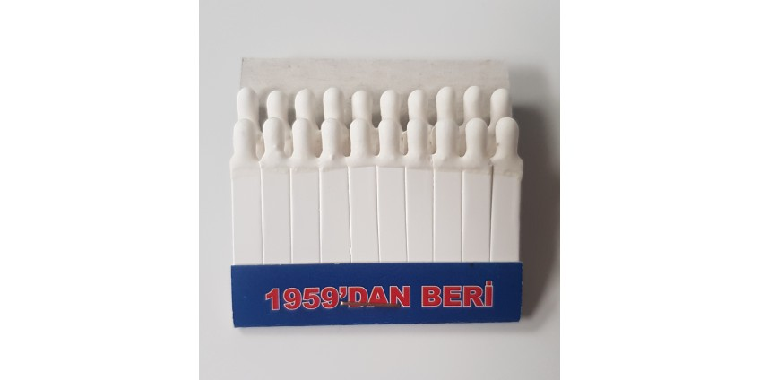 Styptic Pencils and Matches