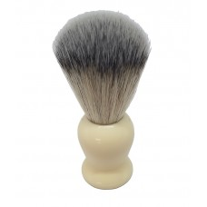 ARC Shaving Brush Faux Ivory (cream colour) handle Light Colour Synthetic Hair